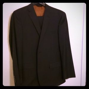 Dark charcoal Jos A banks suit